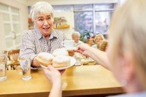 kavárna v teplickém domově pro seniory