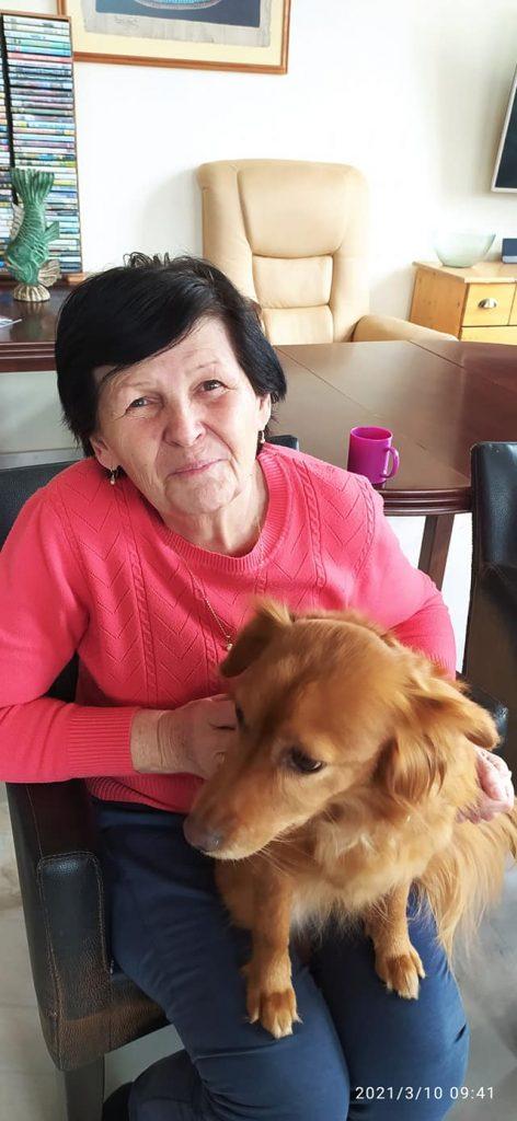 canisterapie v domově pro seniory